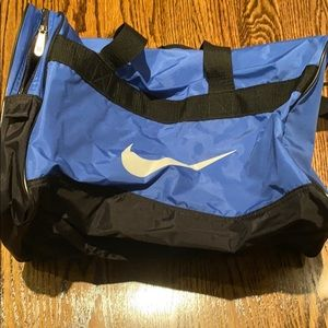 Nike blue athletic bag
